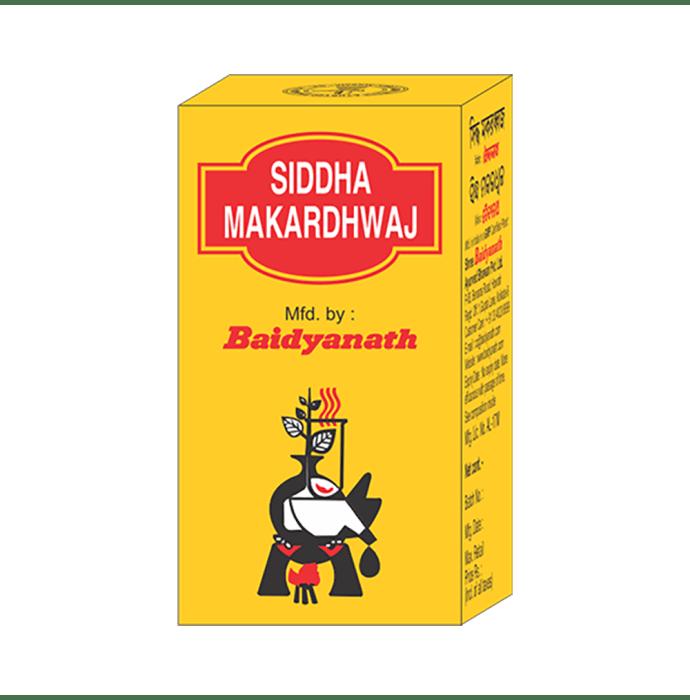 Baidyanath siddha makardhwaj special tablet