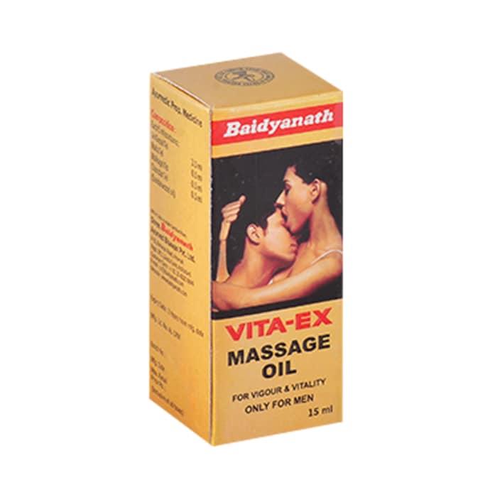 Baidyanath vita ex massage oil