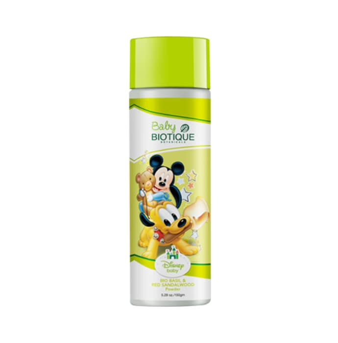 Biotique disney mickey baby bio basil & red sandalwood powder