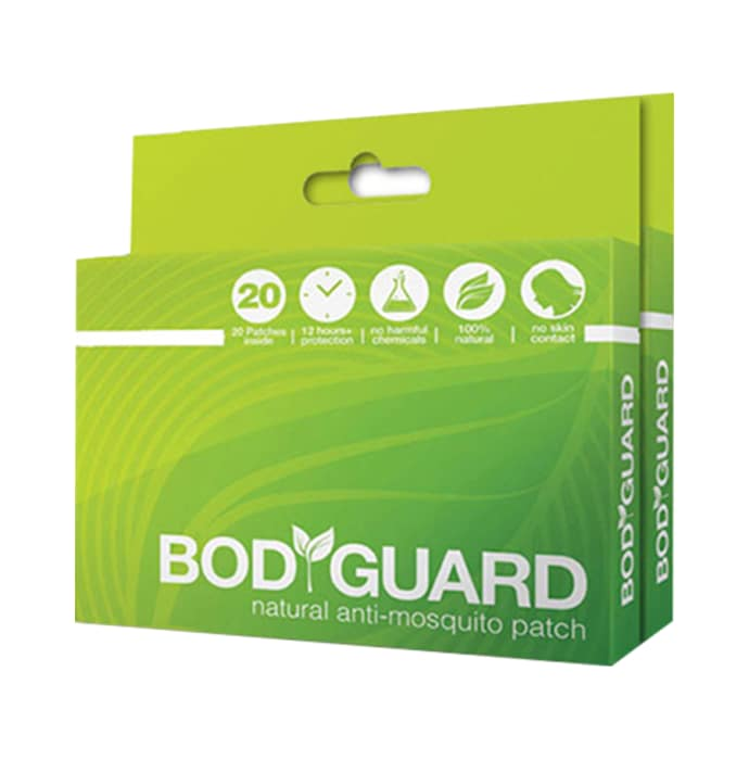 Bodyguard natural anti-mosquito patch pack of 3