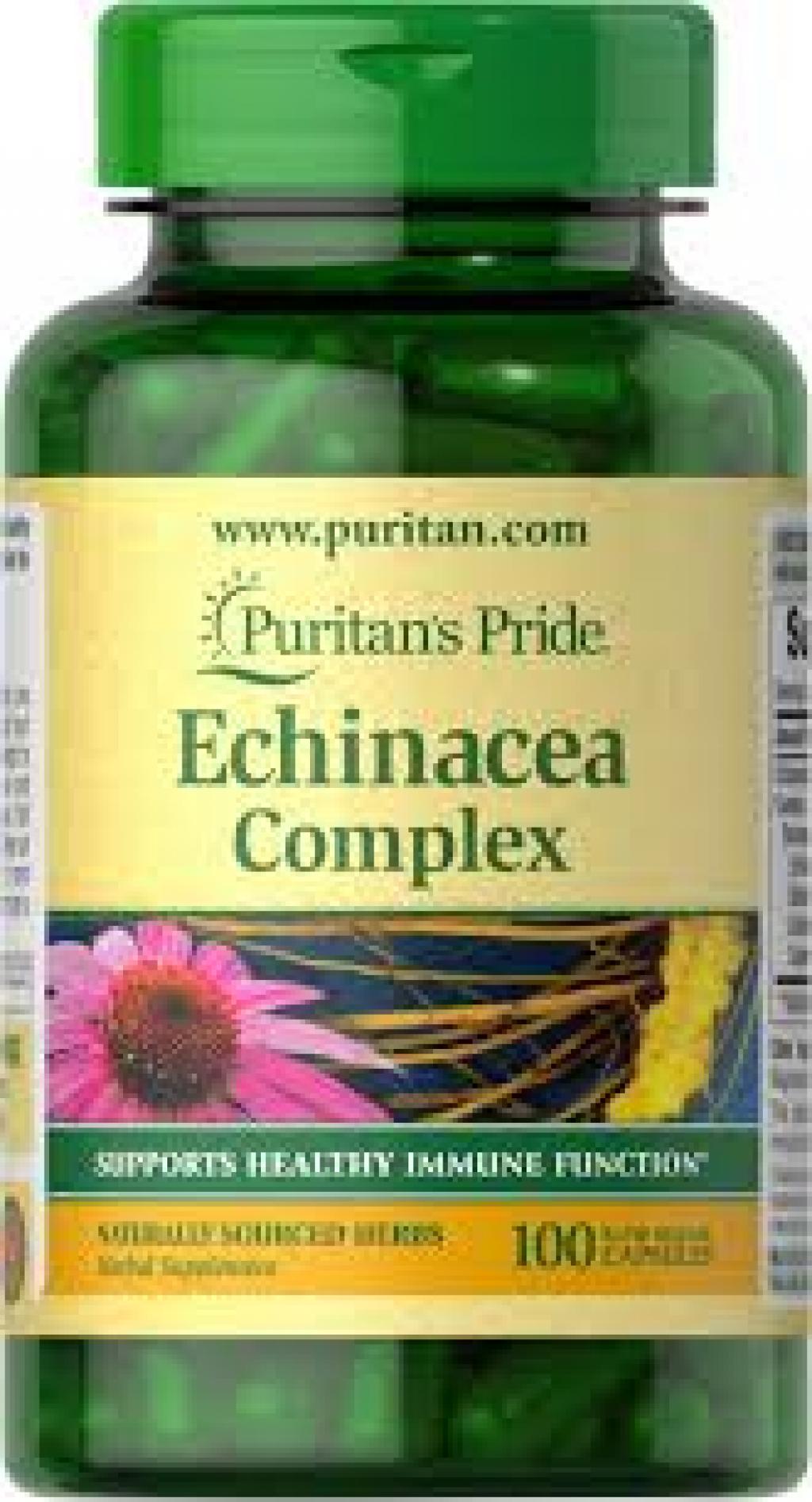 Puritans Echinacea Complex * 100 Caps