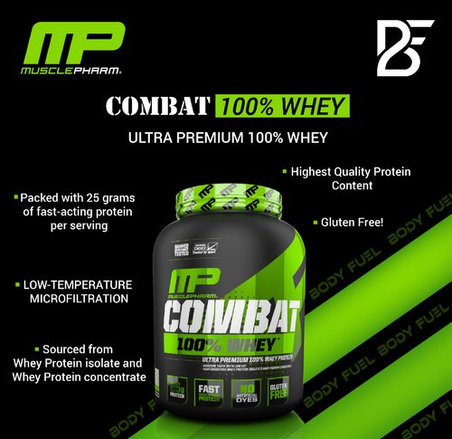 Muscle Pharm Combat Whey 2Lbs
