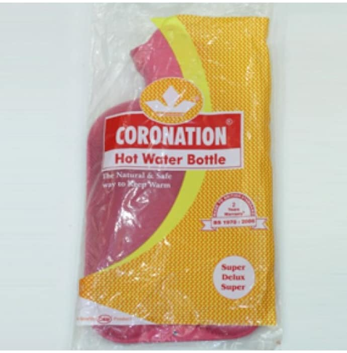 Coronation hot water bottle (super deluxe super)