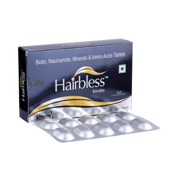 Hairbless tablet