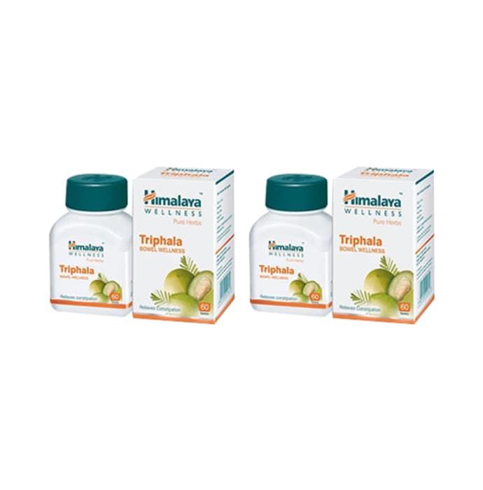 Himalaya wellness digestive care combo of triphala and trikatu tablet