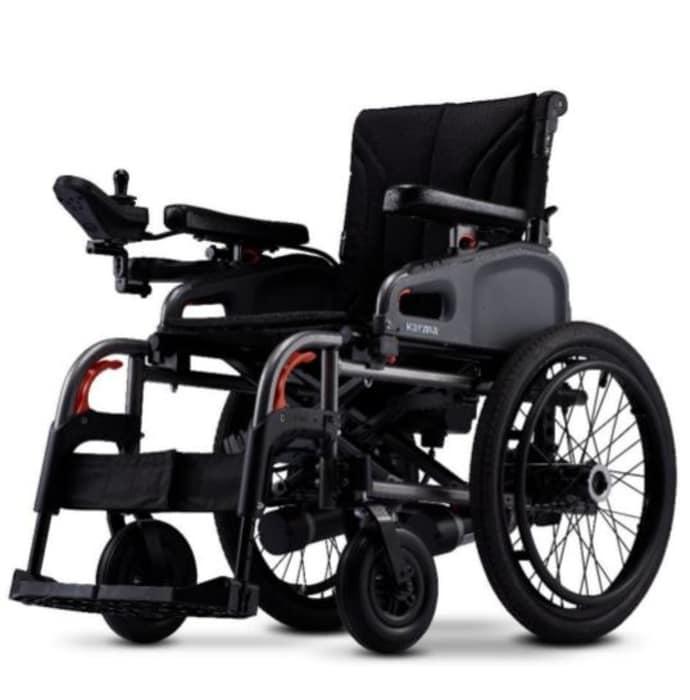 Karma flexx f20 power- electronic automatic wheelchair