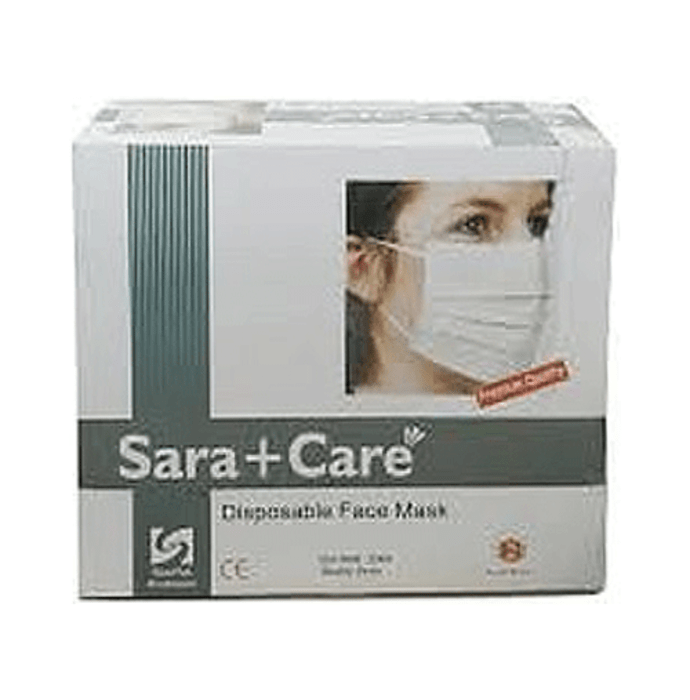 Sara care disposable face mask