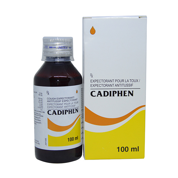 CADIPHEN 100ML SYRUP