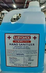 HAND SANITIZER 5LIT