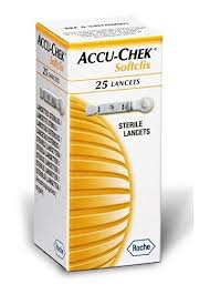 ACCUCHEK SOFTLIX 25 LANCETS