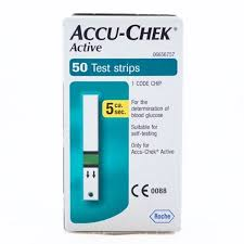 ACCUCHECK ACTIVE 50 TEST STRIPS