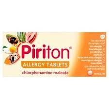 PIRITON 30 TABLETS UK