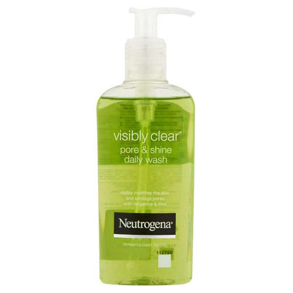 NEUTROGENA VISIBLY CLEAR FACE WASH