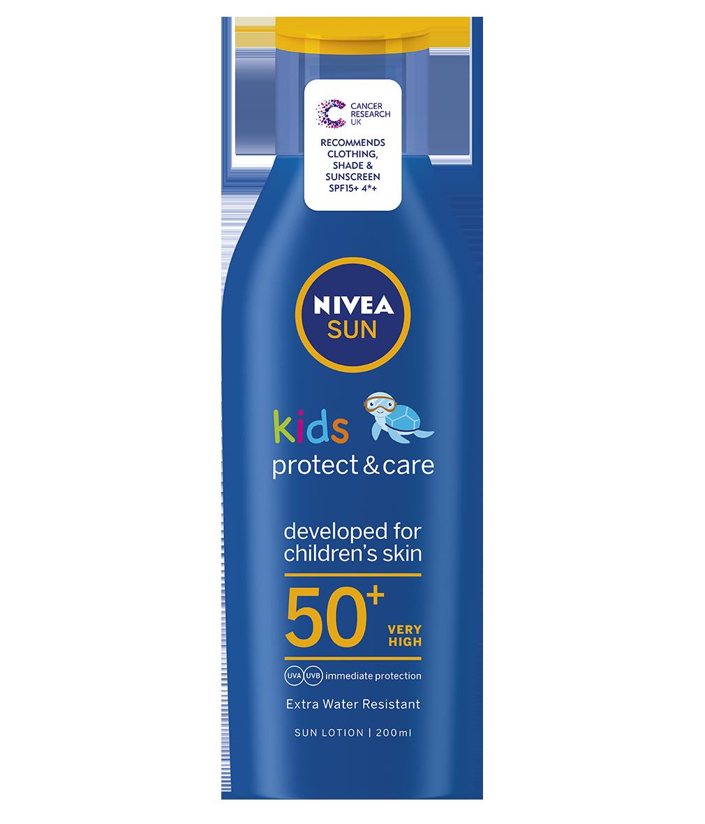 NIVEA SUN KIDS PROTECT AND CARE 50+SPF 200ML LOTION