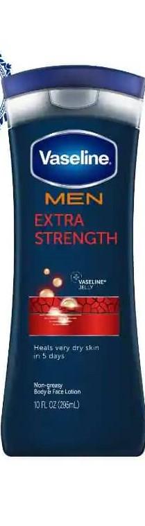VASELINE MEN EXTRA STRENGTH  LOTION  400ML