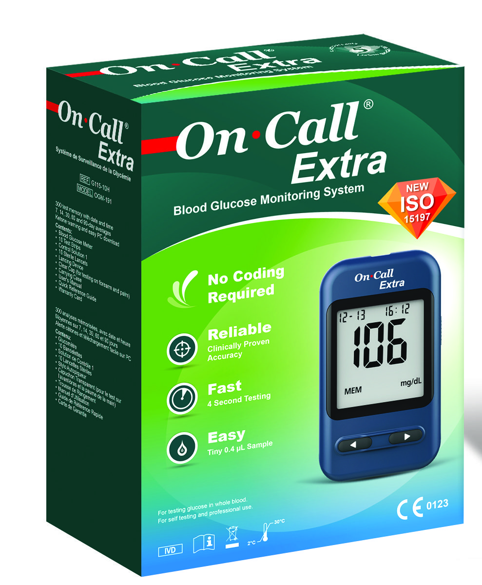 ON CALL EXTRA GLUCOMETER