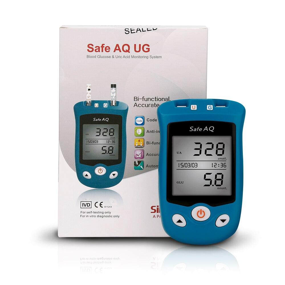 SAFE AQ URIC ACID & GLUCOMETER
