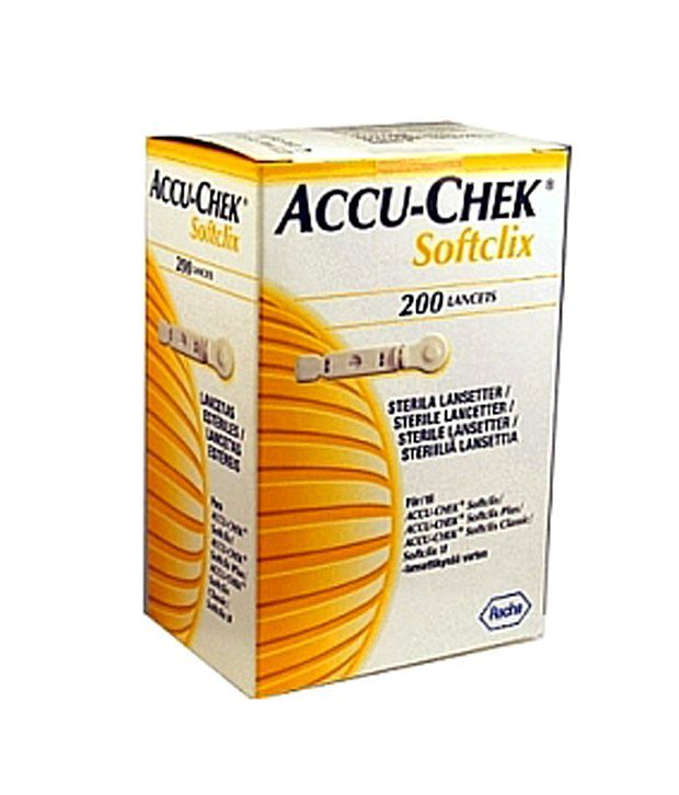 ACCUCHEK SOFTLIX 200 LANCETS