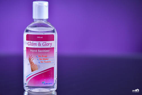 HAND SANITIZER 100ML GLAM AND GLORY