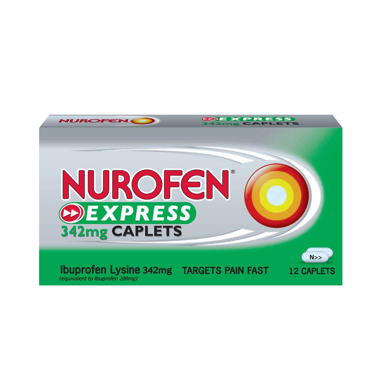 NUROFEN EXPRESS 342mg 12s TABLET
