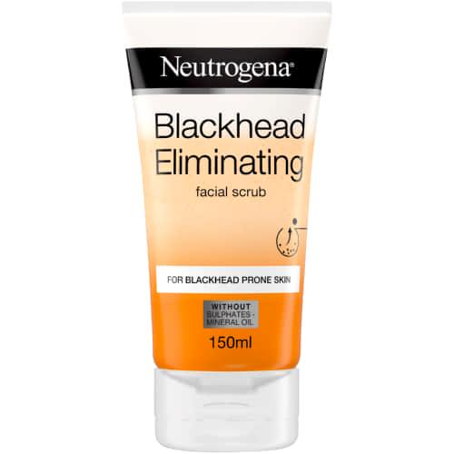 NEUTROGENA BLACKHEAD ELIMINATING 150ml OIL-FREE FACIAL SCRUB