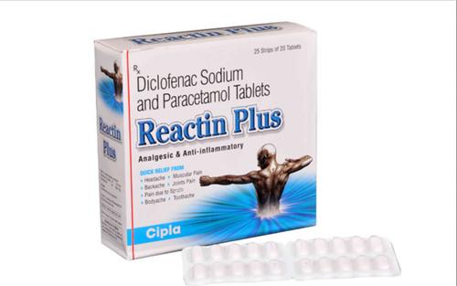 Reactin Plus 50 mg/500 mg Tablet