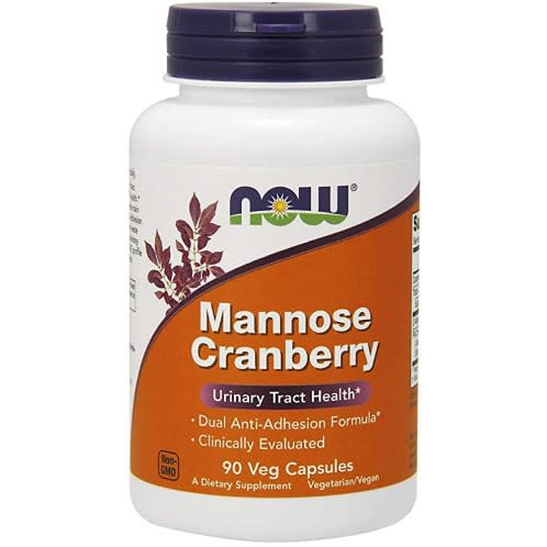 Nowfoods Mannose Cranberry x 90 Caps