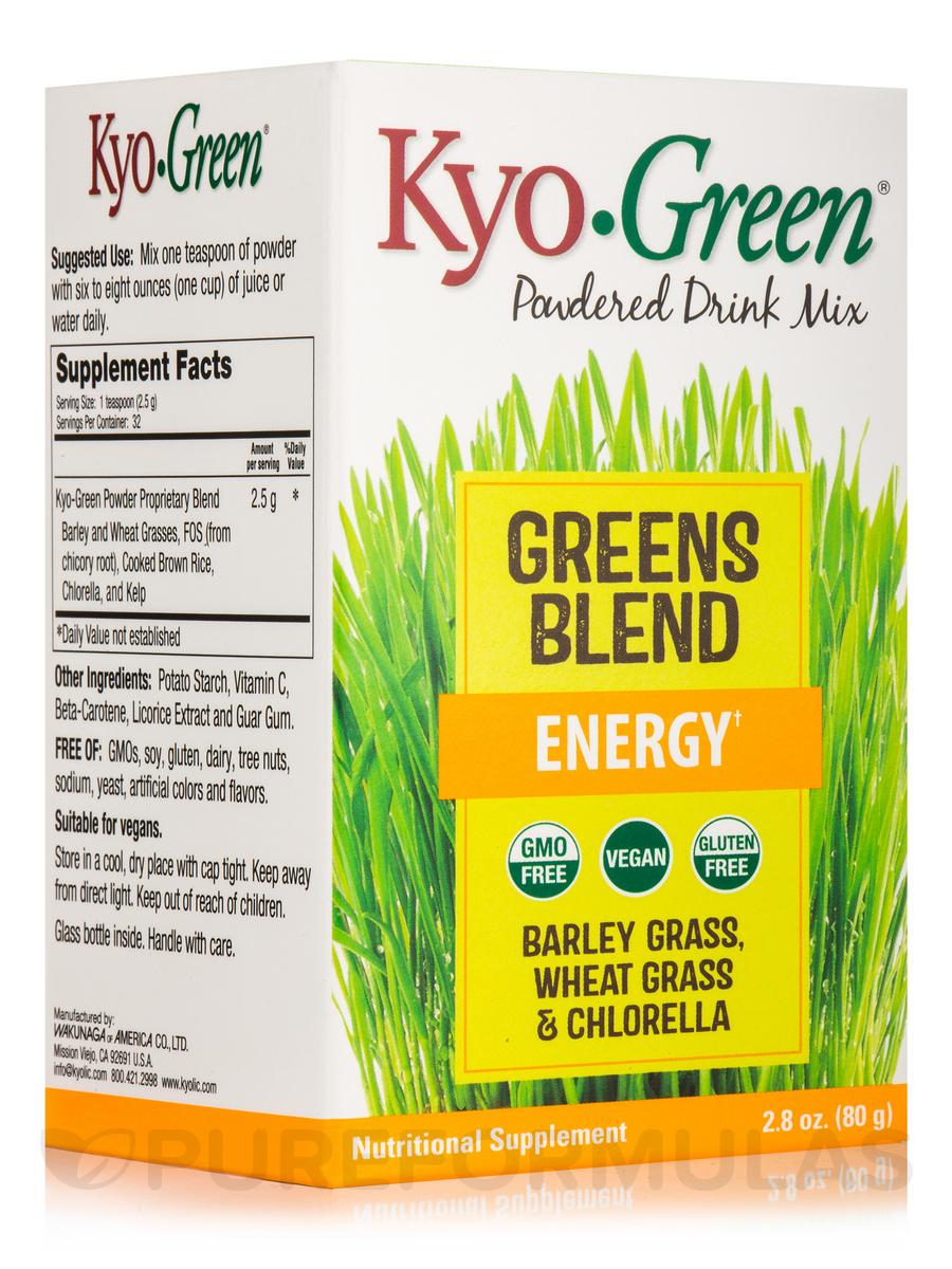 Kyo.Green Greens Blend 150g with Balley Grass, Wheat Grass & Chlorella