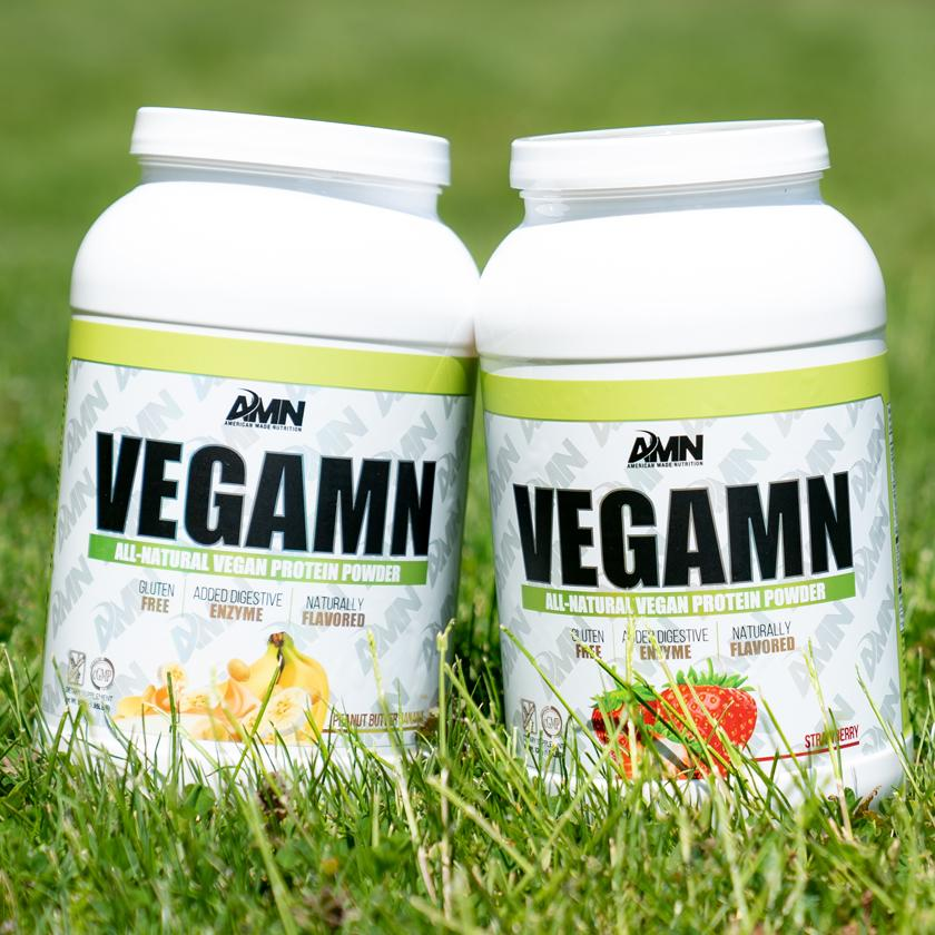 AMN Vegamin Whey Protein w/ Digestive Enzymes 2Lbs
