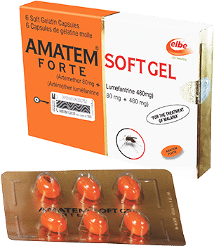 Amatem Softgel 80/480mg - 6 Softgel