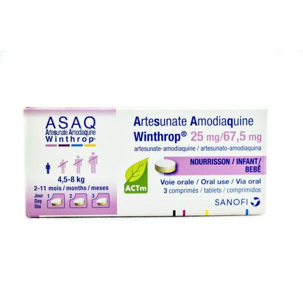 Asaq Winthrop 25/67.5Mg - 3 Tabs