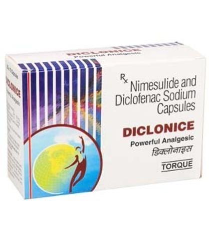 Diclonice 50 mg/100 mg Capsule